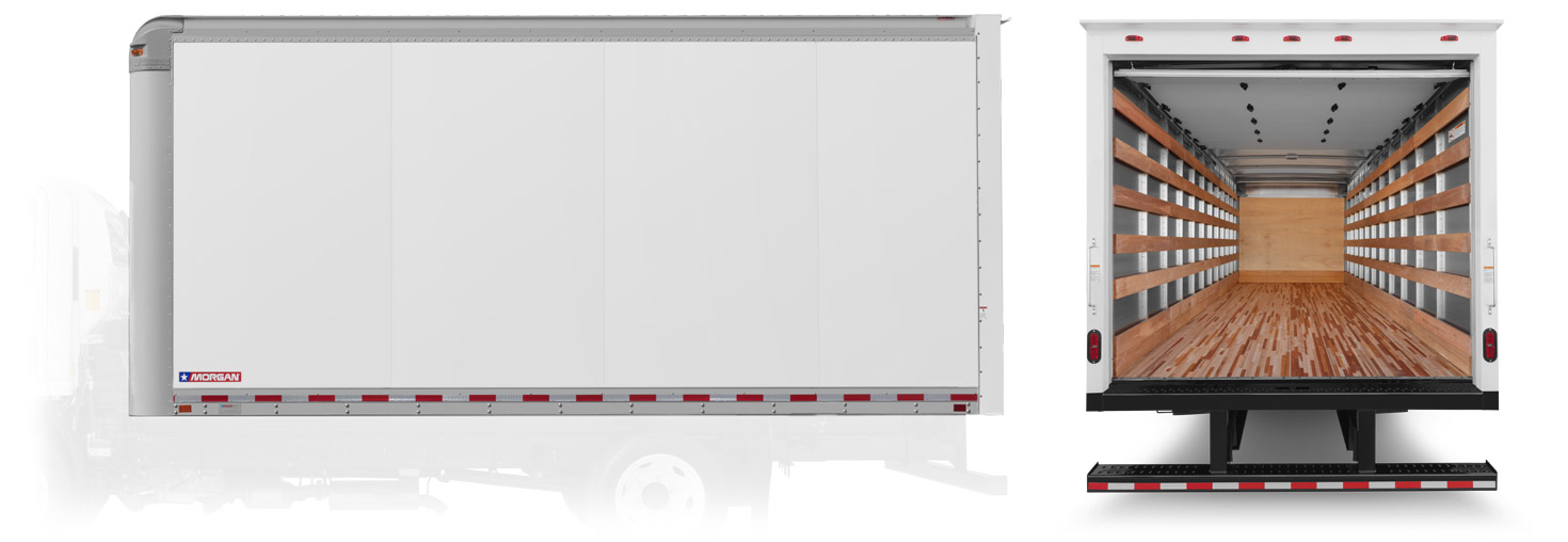 Smooth Wall Aluminum Wall ConstructionTk Truck body's Smooth Wall aluminum truck bodies deliver all of the benefits of aluminum wall construction - minus the vertical surface rivets. The smooth, clean skin provides an even more attractive advertising platform for your business.